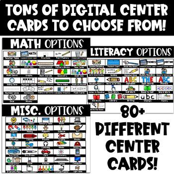 Center Rotation Chart (Center Rotation Powerpoint and Google Classroom)