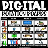 Literacy Math Center Rotation Chart Center Signs Digital Rotation Boards