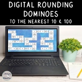 Digital Rounding Game Dominoes to the Nearest 10 and 100 l
