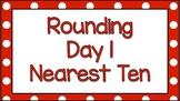 Digital Rounding to Ten Google Classroom