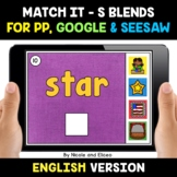 Digital S Blends Word Work for Google and Seesaw 2 - Dista