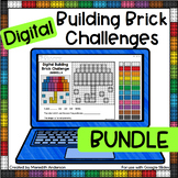Digital STEM Activity - Building Brick Challenges for all Seasons