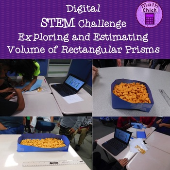 Digital STEM Challenge - Exploring and Estimating Volume of a Rectangular Prism