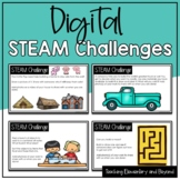 55 Digital STEAM Challenges for Kindergarten and Grade One