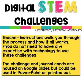 Digital STEM Challenges iOS Apps Version