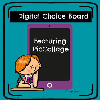 Digital STEM Choice Board - PicCollage Kids