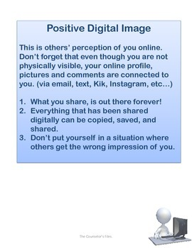 Digital Safety/Digital Footprint Lesson Plan