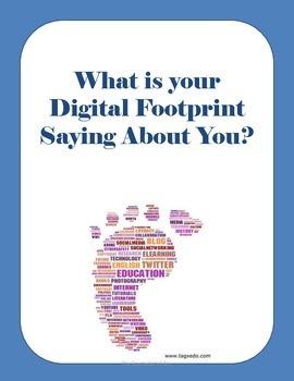 Digital Safety/Digital Footprint Lesson Plan SALE