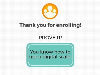 Digital Scale Pro Digital Badge