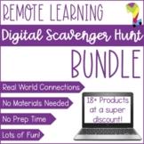 Digital Scavenger Hunt Bundle   Virtual Lessons   No Prep