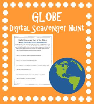 Digital Scavenger Hunt of the Globe