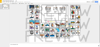 Digital School Holiday First, Next, Last - Digital Visual Aids for Autism & SPED