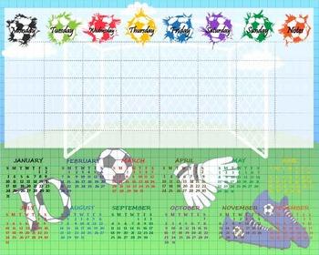Digital School Timetable/ Organizer- Digital Clip Art  (155)