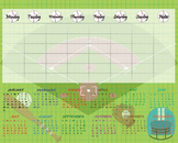 Digital School Timetable/ Organizer- Digital Clip Art (156)