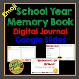 Digital School Year Memory Book - Emoji Theme - Google Slides