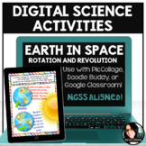 Digital Science Activities Earth's Movement in Space Rotat