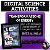 Digital Science Activities Energy Transformations Digital