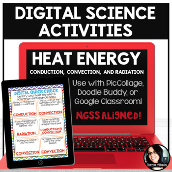 Digital Science Activities Heat Transfer (Conduction, Convection, and Radiation)