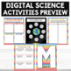 Digital Science Activities Moon and its Phases Digital Resources Pic Collage