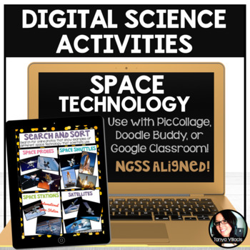 FREE Digital Science Activities Space Technology Digital Resources FREEBIE
