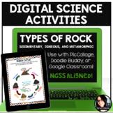 Digital Science Activities Types of Rock (Sedimentary, Ign