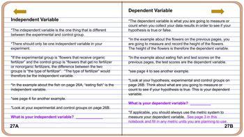 Digital Science Fair Notebook and Portfolio (Google Slides doc)