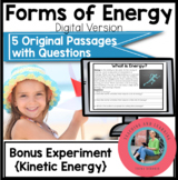 Forms of Energy On Google Forms: Paperless Digital Science Reading Comprehension