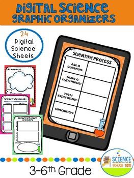 Digital Science Graphic Organizers