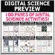 Digital Science MEGA Bundle Digital Resources for Science 100 PAGES!