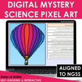 Digital Science Pixel Art Mystery Picture States of Matter NGSS Google