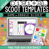 Digital Scoot Creation Kit for Google Slides:  Make Your Own Game!
