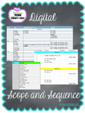 Digital Scope and Sequence (Google Drive Resource)