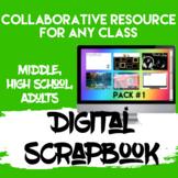 Digital Scrapbook   Yearbook   Distance Learning Google Classroom