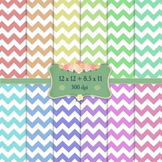 Digital Scrapbooking Paper A4 Lot 12 X 12 8 5 X 11 Striped