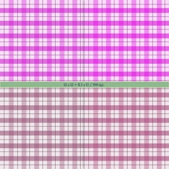 Digital Scrapbooking Paper Background Printable Cover Party Checker Spotted Dot