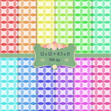Digital Scrapbooking Paper Birthday Card Chevron Layout Cover Holiday Texture A4