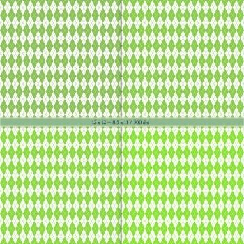 Digital Scrapbooking Paper Book Art Premade Pack Scrap Booking Parallel Pattern