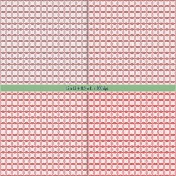 Digital Scrapbooking Paper Card Album Gingham Set Stripe Texture Template Dot A4