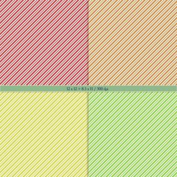 Digital Scrapbooking Paper Geometric Pattern Parallel Printable Book Scrap Book