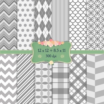 Digital Scrapbooking Paper Geometric Template Texture Jpg