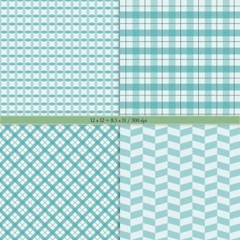 Digital Scrapbooking Paper Graphics Decoration Instant Download Album Supplie A4