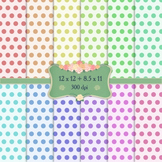 Digital Scrapbooking Paper Happy Jpeg Pack Greeting 12x12