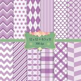 Digital Scrapbooking Paper Scrapbook Dot Happy Diagonal Backdrop Single Kit Fun