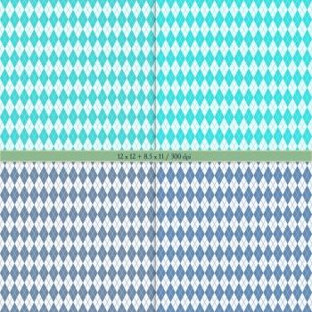 Digital Scrapbooking Paper Seamless Polka Art Pattern Circle Lot Holiday Supplie