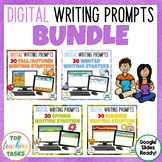 Digital Season Writing Prompts BUNDLE for Google Drive®