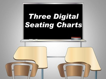 Seating Chart Templates: Three Easy Organizers for Classro