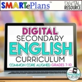 Digital Secondary English Curriculum Bundle for Distance L