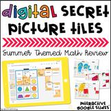 Digital Secret Picture Tiles: 3rd & 4th Grade Math | Dista