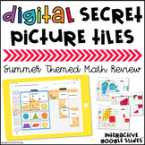 Digital Secret Picture Tiles: 3rd & 4th Grade Math | Dista