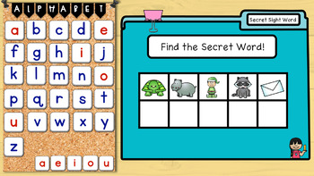 Digital Secret Words Fry 100 Sight Words